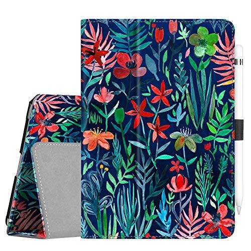 Fintie Case for iPad Mini 5 (2019) / iPad Mini 4 - [Corner Protection] PU Leather Folio Stand Cover with Pencil Holder, Auto Sleep/Wake for New iPad Mini 5th Generation/iPad Mini 4, Jungle Night