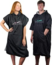 Parallaxx All Weather Surf Poncho Changing Towel | Microfibre Cotton Windproof Waterproof Warm Change Robe for Kite Surfing Boarding