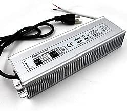 200W 24V LED Driver, IP67 Waterproof, LED Transformer, LED Power Supply Adapter 100V-120V AC to 24V DC Low Voltage Output for LED Light, Computer Project, Outdoor Light