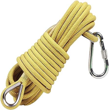 YXwssa Cuerda de Seguridad Resistente al Desgaste 11 mm-10 m ...