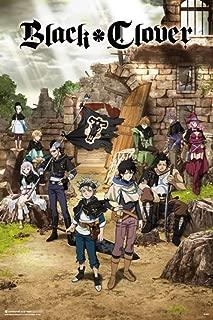 Pyramid America Black Clover One Sheet Anime Cool Wall Decor Art Print Poster 24x36