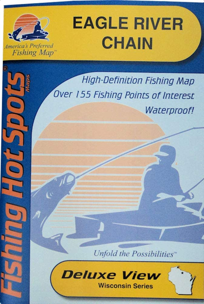 Eagle River SALENEW It is very popular very popular Chain Fishing Map