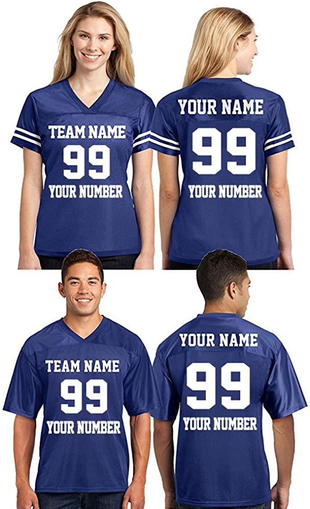 CRAZYDAISYWORLD Customized Football Jersey Directly Long Beach Mall managed store Own Your - Personaliz