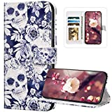 Compatibile con iPhone 7 Plus/8 Plus Custodia Cover Pelle Portafoglio,Wallet Pouch Creativo Telefono Custodia[Shock-Absorption]Magnetica Supporto Protettiva Bumper Cover Leather Flip Cover/#12