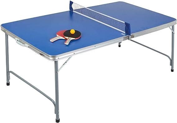 Idena 40464 Compact - Mesa de Ping Pong Plegable, 160 x 80 x 70 cm: Amazon.es: Juguetes y juegos
