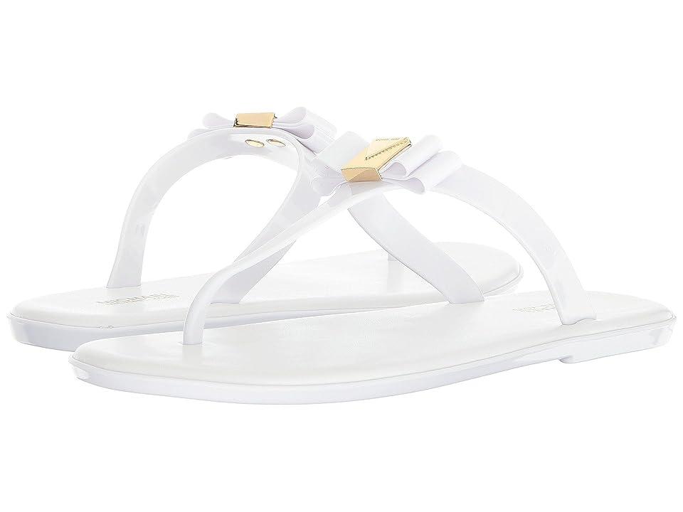 MICHAEL Michael Kors Caroline Jelly Thong (Optic White PVC) Women