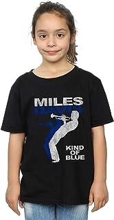 Absolute Cult Miles Davis Niñas Kind of Blue Distressed Camiseta