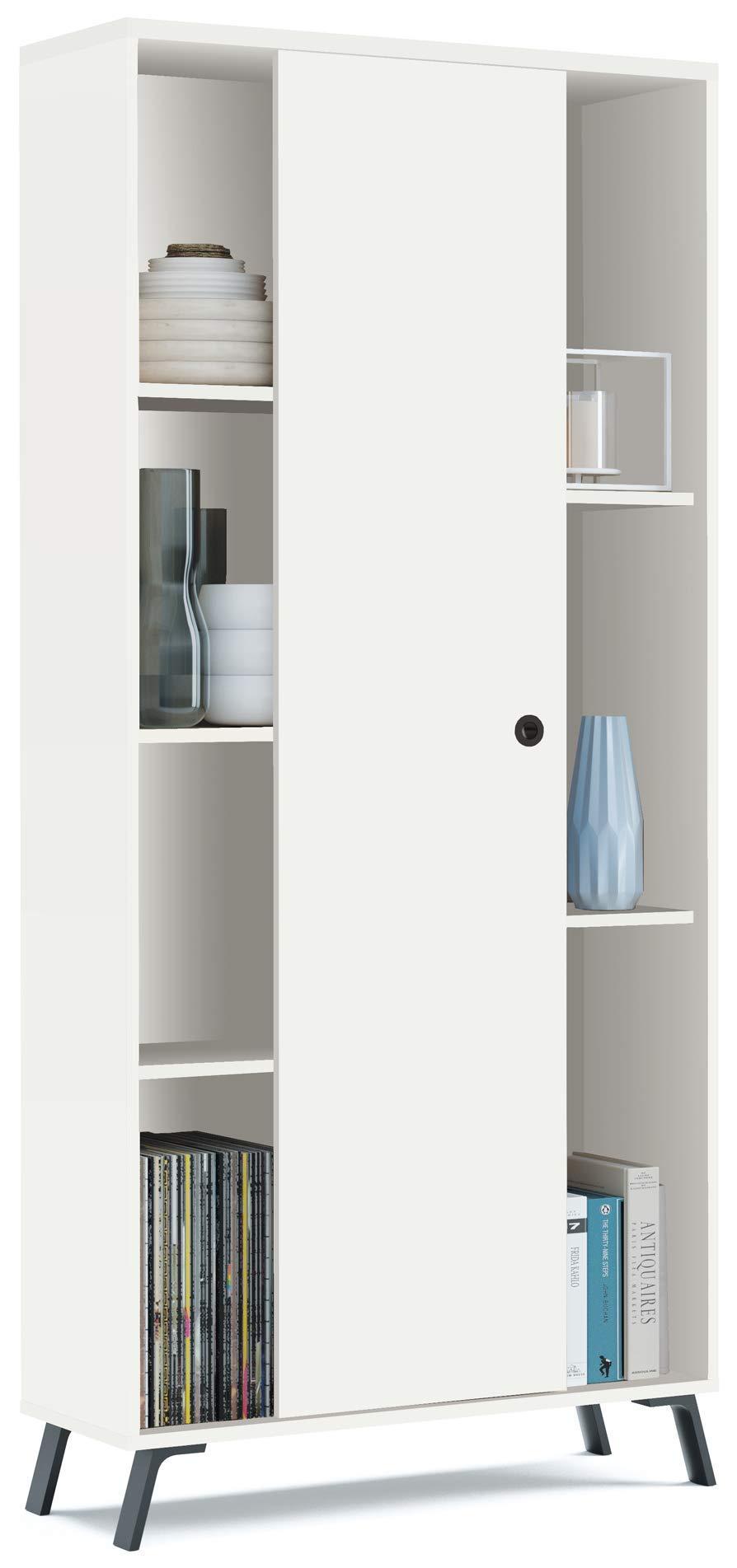 Pack Muebles salón Comedor Kamet Color Blanco (Mesa de TV + Aparador + Librería + Mesa de Centro): Amazon.es: Hogar