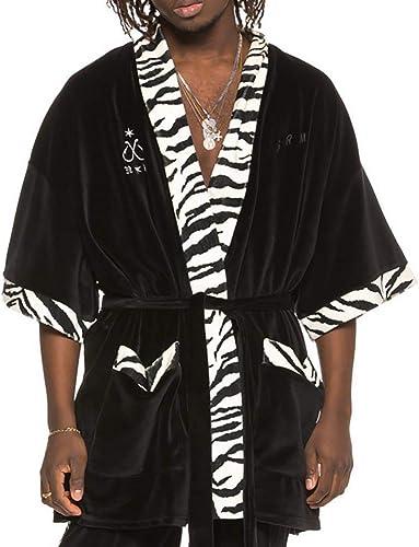 Grimey Kimono X Natos Y Waor Velour Noir L (grand)