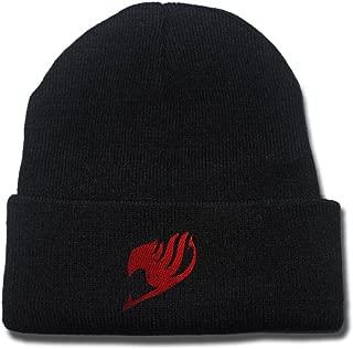 JRICK Fairy Tail Logo Beanie Fashion Unisex Embroidery Beanies Skullies Knitted Hats Skull Caps