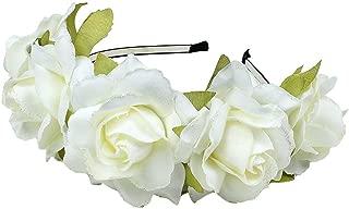 Flower Crown Headband Bridal Bridesmaids Weddings Party Festivals Crown Floral Head Wreath