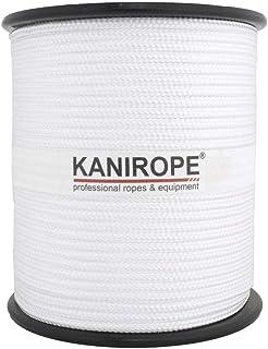 Kanirope PP Seil Polypropylenseil MULTIBRAID 5mm 100m Farbe Weiß 0100 16x geflochten