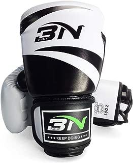 LangRay オープンフィンガー グローブ ボクシンググローブ 手袋 MMA 総合格闘技 ボクシング ムエタイ 空手 テコンドーなど トレーリング用 メ ンズ レディース レザー