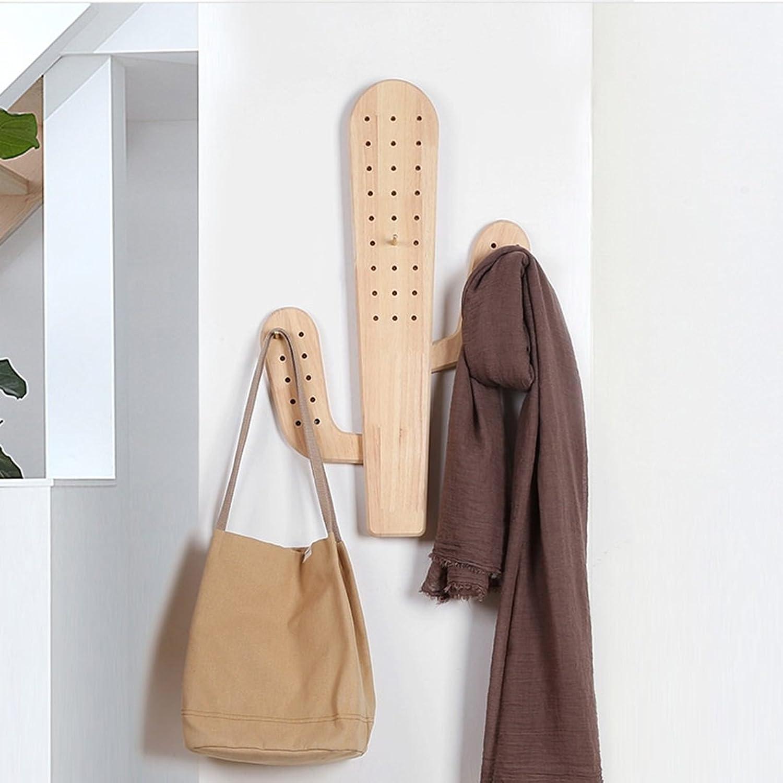 GLJ Door Rack Creative Decorative Hooks Nordic Bag Rack Wall Hanging Entrance Entrance Key Personality Hook Hook up (Size   Small)