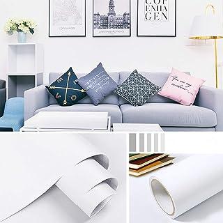 Homya matte thick solid color wallpaper 10M self-adhesive bedroom wallpaper, living room, wall cabinet, wall decoration wa...