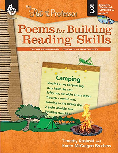 Compare Textbook Prices for Poems for Building Reading Skills Level 3 The Poet and the Professor 1 Edition ISBN 9781425806774 by Timothy Rasinski,Karen McGuigan Brothers