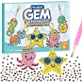 Arts and Crafts for Kids Ages 8-12 - 5D Diamond Painting Kits for Beginners - Paint by Number Gem Keychains Art for Girls Kids 10-12 6-8 4-8 by Nsuebck