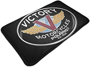 Victory Motorcycles Polaris Logo Soft Shaggy for Girls Bedroom Children Playroom Non-Slip Baby Nursery Carpets Home Decor 17 X 24 in