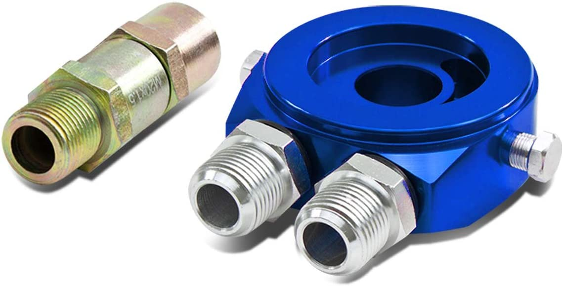 DNA Year-end annual account Motoring ADTSWT2BL Oil Adaptor Filter New product! New type Bypass Sandwich