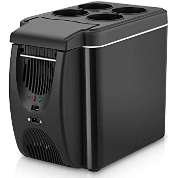 12 V Refrigerador Congelador Calentador 6L Mini Coche Congelador ...
