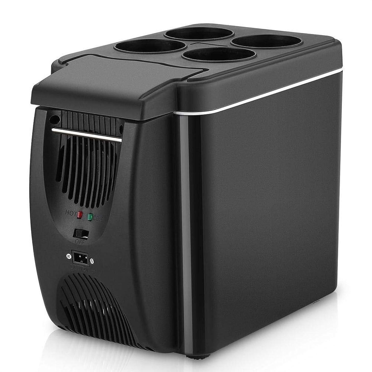 nattiness 12V Portable Electric Cooler/Warmer for Car, 6L Mini Car Freezer Cooler & Warmer, Electric Fridge Portable Icebox Travel Refrigerator - Food Heater Beverage Cooler Fridge