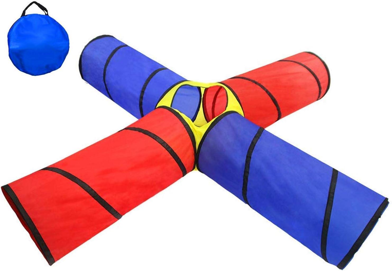POCO DIVO 4-Way Superior Tunnel Pop-up Fun Junction Tent Set Toy K Ranking TOP10 Feet 8