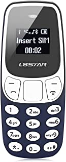 L8star BM10 Worlds Smallest Phone 2 in 1 Mini Phone Unlocked GSM with Hands Free Bluetooth Dialer Bluetooth Headphone Dual...