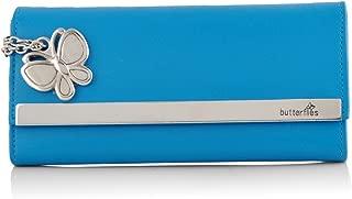 Butterflies Women's Wallet (Sky Blue) (BNS 2376SBL)