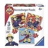 Sam, el bombero 3 Puzzle 25, 36 y 49 Piezas | Fireman Sam | Rompecabezas