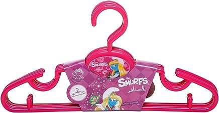 new style fd59e cb464 The Smurfs Vg-sb-hngr-l Plastic Hangers - 5 Pack, Purple