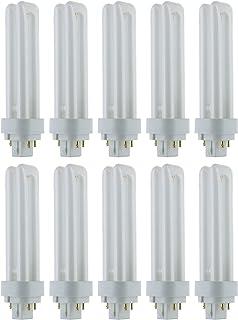 10 Pack Sylvania 20454 CF26DT//827//ECO 26-Watt 2700K 2-Pin Single Tube Compact Fluorescent Lamp
