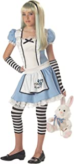 California Costumes Girls Tween Alice Costume, Blue/White, X-Large