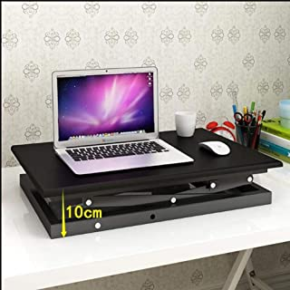 Chair 椅子 Tables Height Adjustable Standing Computer Desk Sit to Stand Converter Gas Spring Riser Small Tabletop Workstatio...