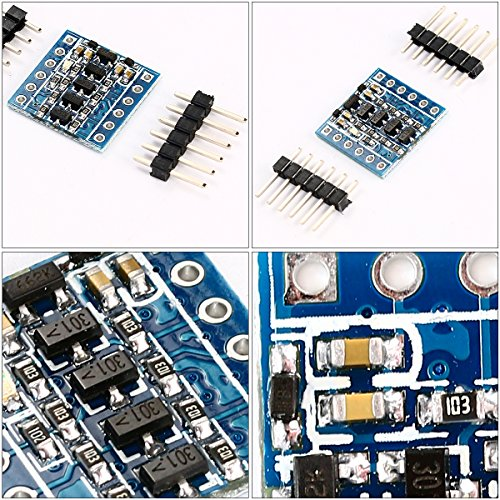 XCSOURCE 5PCS IIC I2C Logic Level Converter Bi-Directional Module 5V to 3.3V TE291