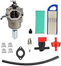 Carburetor Kit for Briggs Stratton 594593 591731 14.5HP - 21HP 31A507 31A607 31A707 31A777 31A807 31B707 31B775 31C707 Engines with Adjusting Screw