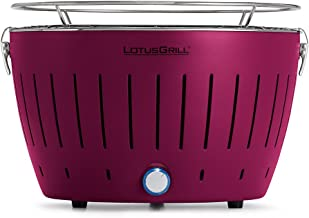 LotusGrill G-LI-34 - Barbacoa de carbón sin humo, color púrpura