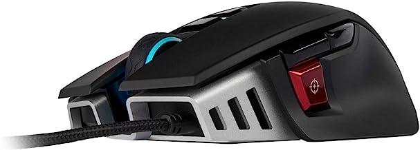 CORSAIR M65 ELITE RGB - FPS Gaming Mouse - 18,000 DPI Optical Sensor - Adjustable DPI Sniper Button - Tunable Weights - B...