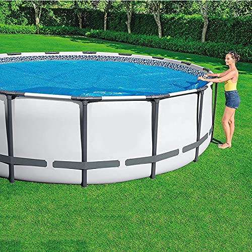 YANRU Best Pool Cover, 8 Feet Heat Pool Solar Cover - Above Ground Pool Heater - Swimming Pool Covers for Inground Pools
