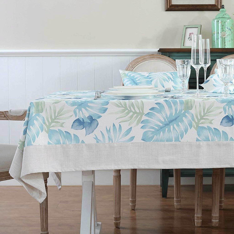 Nappe Rectangulaire Table Nappe Tissu Nappe Décorative Tapis Table Ronde, Multi-taille (Couleur   A, taille   120x160cm (47x63 pouces))