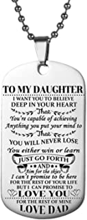 to my daughter i want you to believe
