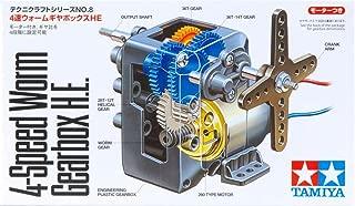 1 X 72008, 4 Speed Worm Gearbox, HE by tamiya by Tamiya