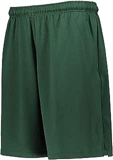 Russell Men's Three Pocket Coaches Shorts Dark Green XL