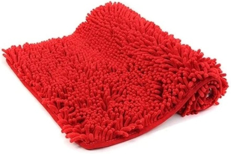 Chenille padded mat sanitary absorbent bathroom mat doormat-D 70x180cm(28x71inch)