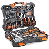 VonHaus Premium <span class='highlight'>Hand</span> <span class='highlight'>Tool</span> Kit   Socket Set 256pc – Combo <span class='highlight'>Tool</span> Kit with Satin-Finished <span class='highlight'>Tool</span>s & Heavy Duty Storage Case – Ideal for DIY, Workshop & Garage