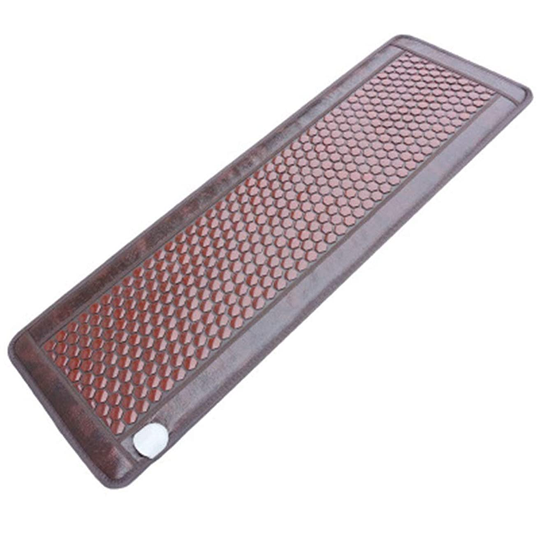 結紮プランテーション曲線AXROAD MALL ホームオフィスの座席のためのビューティーサロン、マッサージマットレスマットレスヒスイマットレスフルボディ温水マッサージマットレスマット (色 : Picture, サイズ : 70x190cm)
