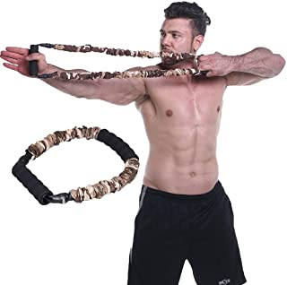 Ranbo Hand Extensor Exerciser,Finger Strength Resistance Bands/arm Strength Training for Archery Pull Bow Workout Equipment Camouflage Color