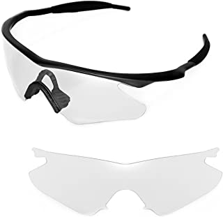 Replacement Lenses or Lenses with Black Nosepad for Oakley M Frame Heater - 40 Options Available