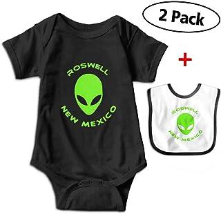 c9d6bcb2b Roswell New Mexico Alien Newborn Unisex Baby Short-Sleeve Cotton Romper  Jumpsuit Bodysuit One-