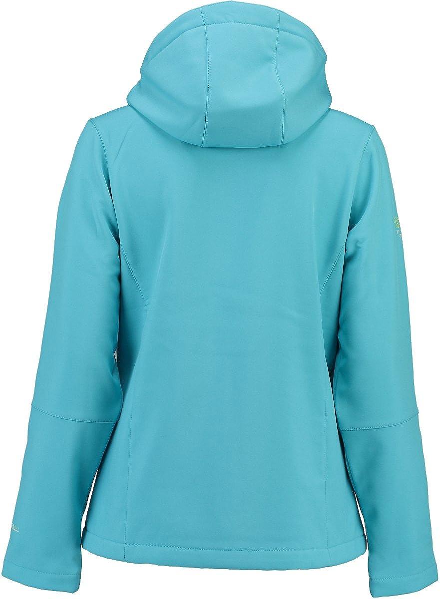 Geographical Norway Damen Tehouda Lady Assort A Sweatjacke Blau (Turquoise)