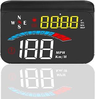 Auto HUD Head up Display, iKiKin HUD GPS System, schaduw geïntegreerde display ontwerp, 3.5 inch Auto HUD Displays Snelhei...